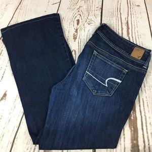 🌺 American Eagle Slim Bootcut Jeans 12